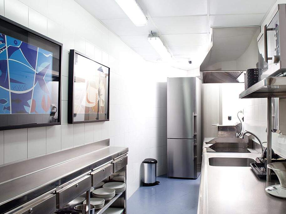 PRACTICE KITCHEN FOR STUDENTS OF THE BCC