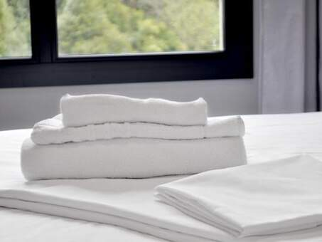 Change of sheets and towels once a week